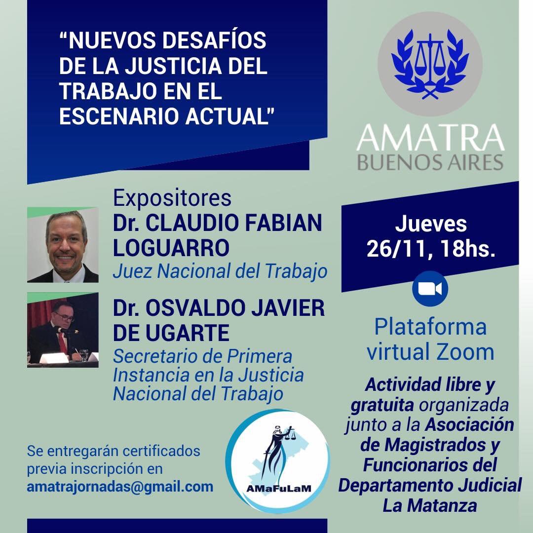 NUEVOS DESAFÍOS DE LA JUSTICIA DEL TRABAJO EN EL ESCENARIO ACTUAL