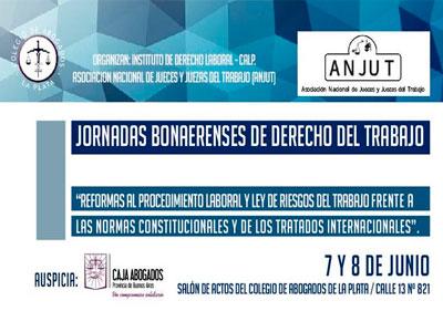 JORNADAS BONAERENSES DE DERECHO DEL TRABAJO