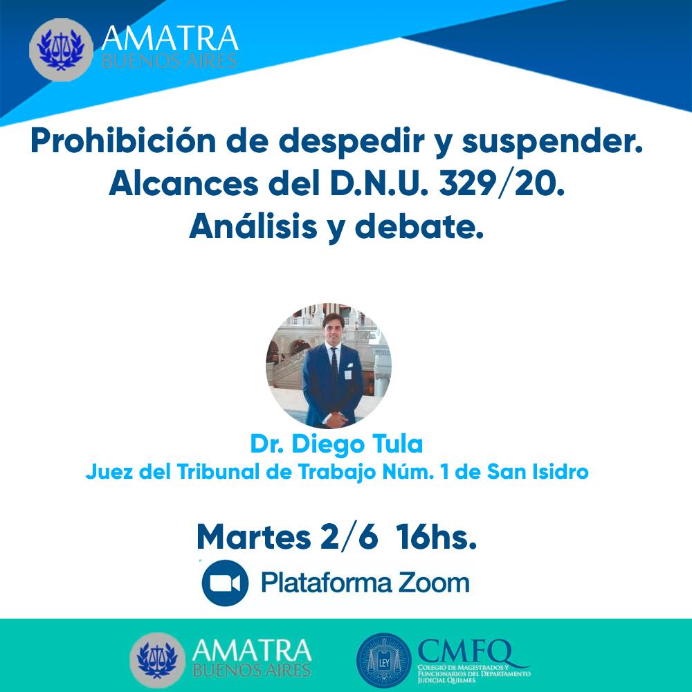 Disertación CMFQ y AMATRA BS. AS.