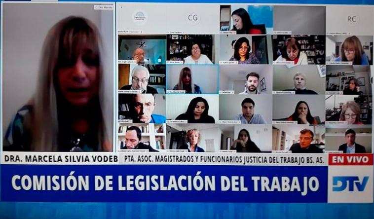 Repercusión sobre la participación de la Dra Marcela Vodeb en la Reunión de Diputados